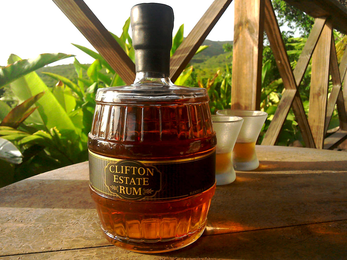 Clifton Estate Rum - Handmade, small batch, spiced rum from ST Kitts & Nevis